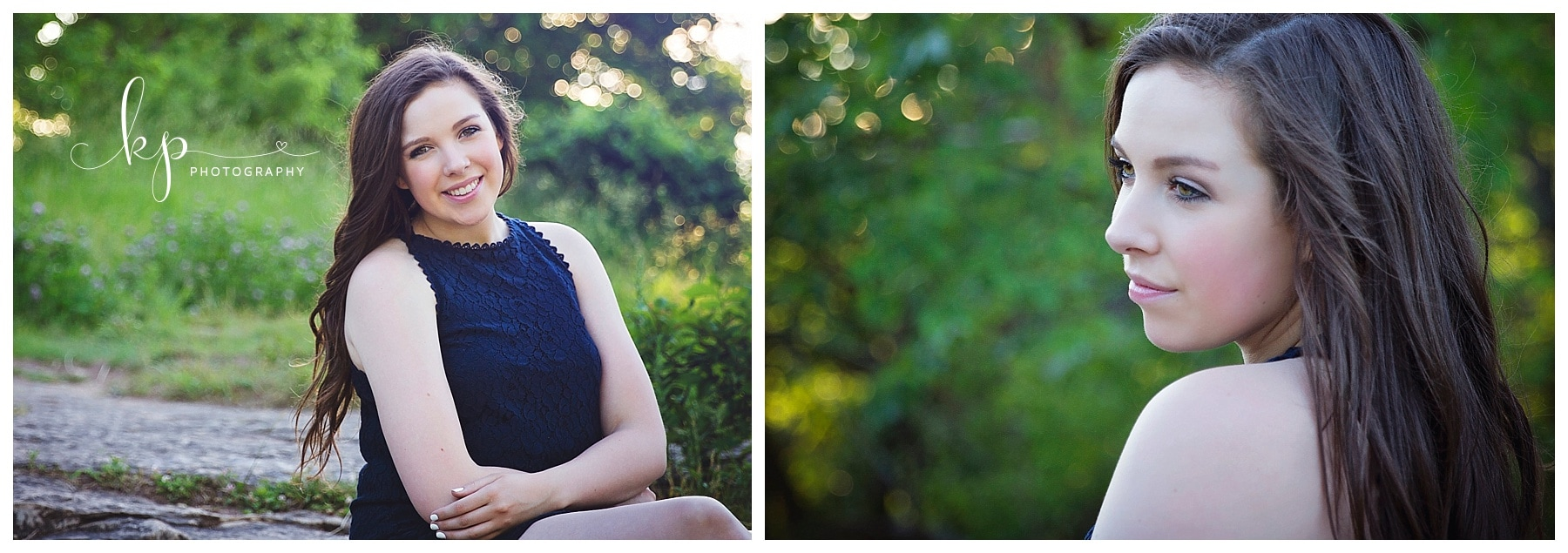 high school girl senior session at fonferek glenn