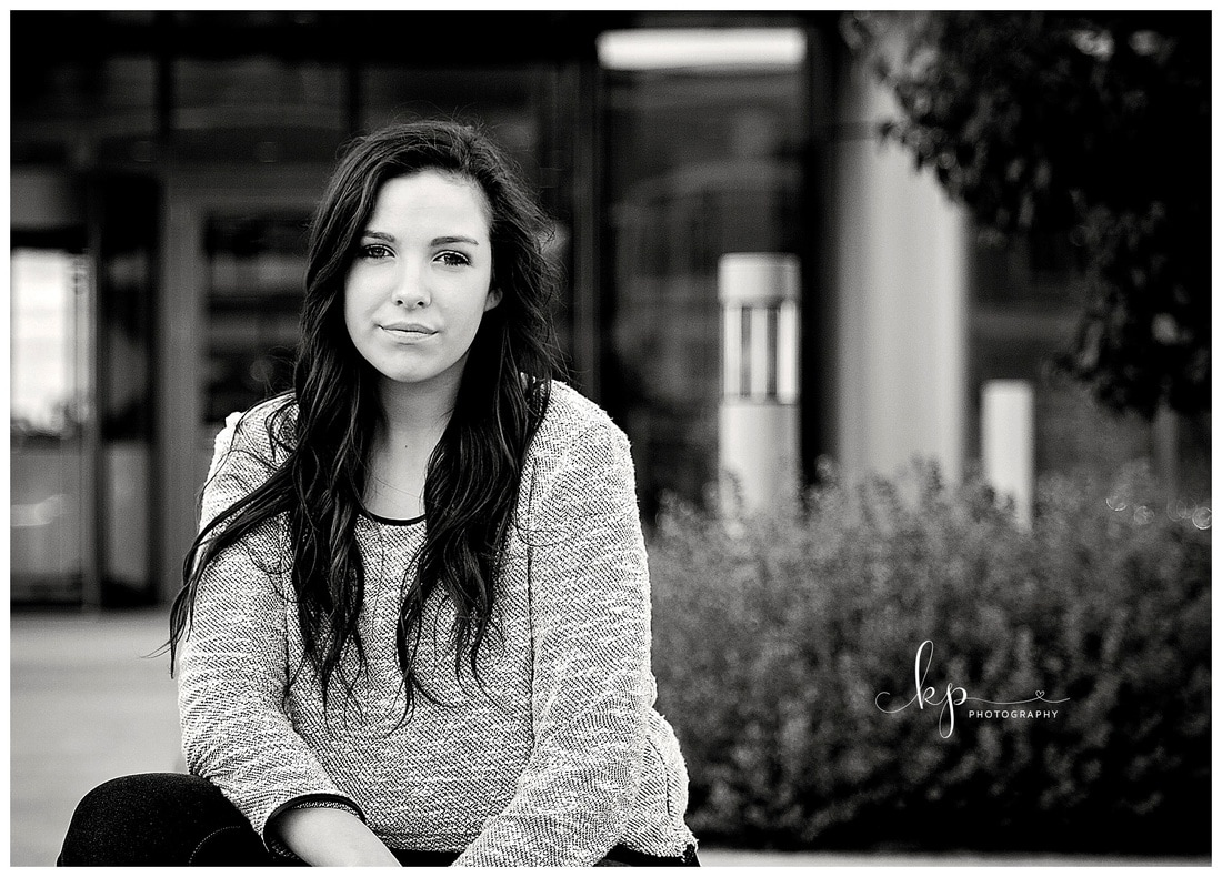 high school senior girl photo session