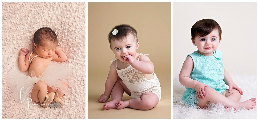 baby's first year photo package